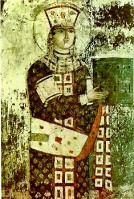 Queen_Tamar_-_Vardzia_fresco